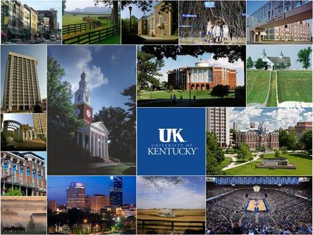 UNIVERSITY OF KENTUCKY ALUMNI CENTER STUDY 10 March 2015.