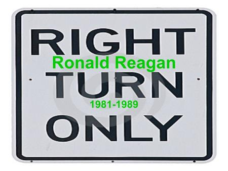 Ronald Reagan 1981-1989. 1980 Election President Carter was losing popularity due to: –Struggling economy –Iran Hostage Crisis Reagan was popular because: