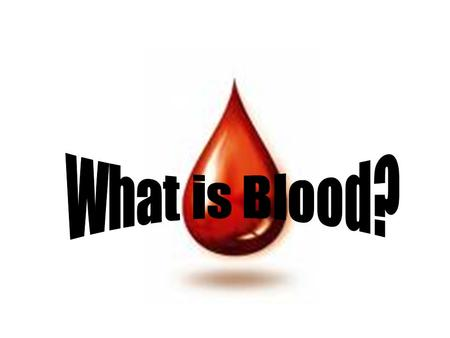 Blood is a tissue that transports substances around the body Blood carries oxygen and glucose to the cells of the body and transports waste and carbon.