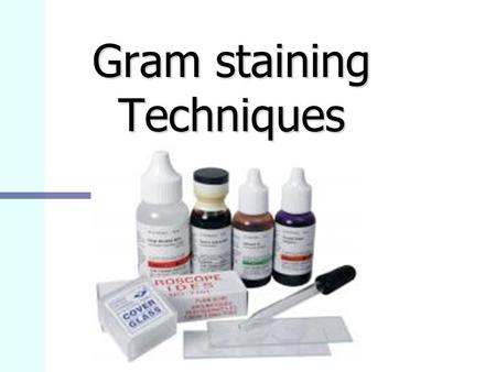 Gram staining Techniques. Some history Bacteria are translucent Bacteria are translucent Staining make them visible under microscope Staining make them.