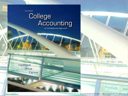 3–13–1 1-1 Copyright © 2012 by The McGraw-Hill Companies, Inc. All rights reserved. McGraw-Hill/Irwin.