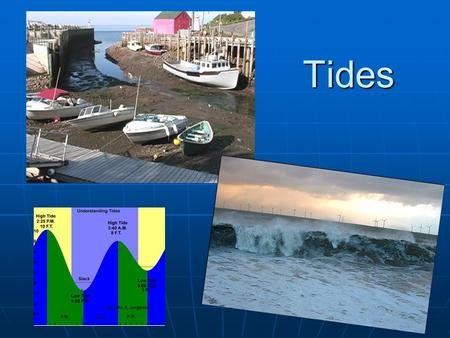 Tides. Tides Tides are caused by the gravitational pull of the moon, sun and by the rotation of the earth, moon and sun. Tides are caused by the gravitational.