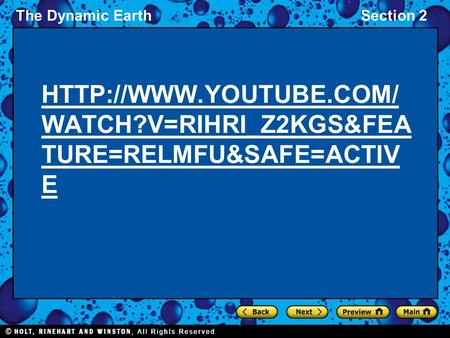 The Dynamic EarthSection 2  WATCH?V=RIHRI_Z2KGS&FEA TURE=RELMFU&SAFE=ACTIV E.