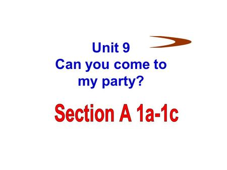 Unit 9 Can you come to my party?. Words review prepare prepare for exam flu v. 使做好准备;把 …… 准备好 为 …… 做准备 n. (=examination) 考试 n. 流行性感冒;流感.