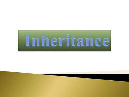  Description of Inheritance  Base Class Object  Subclass, Subtype, and Substitutability  Forms of Inheritance  Modifiers and Inheritance  The Benefits.