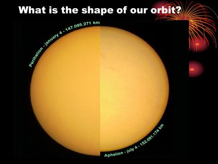 What is the shape of our orbit?. Aim: What are the Laws of Planetary Motion? Topic: Unit 8 Astronomy Main Idea: Johannes Kepler & Sir Isaac Newton.