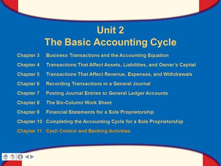 Chapter 11 Cash Control and Banking Activities