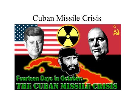 Cuban Missile Crisis. Fulgencio Batista US backed military dictator and President.