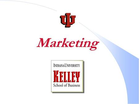 Marketing. Which career? Marketing: Delivering a Standard of Living!