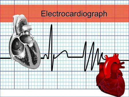 Electrocardiograph. History 1842- Italian scientist Carlo Matteucci realizes that electricity is associated with the heart beat 1876- Irish scientist.