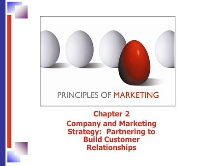 Chapter 2 Company and Marketing Strategy: Partnering to Build Customer Relationships.