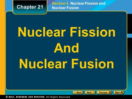 Nuclear Fission And Nuclear Fusion