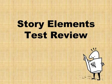 Story Elements Test Review Plot Diagram 2 1 3 4 5 6.