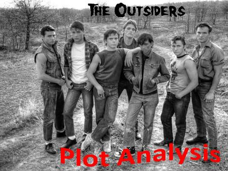 The Outsiders. Chapter 12 – Class discussion 1.Why doesn't Ponyboy feel scared when the socs approach him and he threatens them with a broken bottle?