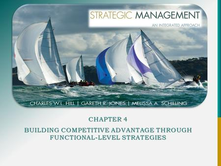 CHAPTER 4 BUILDING COMPETITIVE ADVANTAGE THROUGH FUNCTIONAL-LEVEL STRATEGIES.