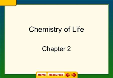 Chemistry of Life Chapter 2. All Living Things Use Energy Energy in living things is converted from 1 form to another (chemical-physical-thermal etc.)
