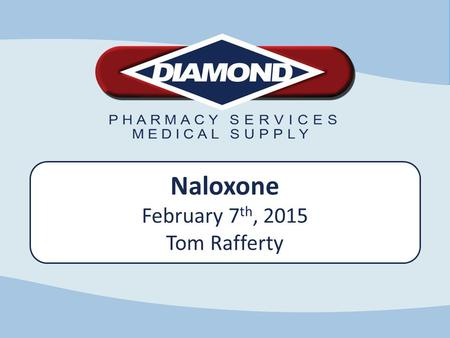 Ill Naloxone February 7 th, 2015 Tom Rafferty. Opioid Dependency & Overdose Emergency Interventions For Overdose Future Of Naloxone Questions Rescue Kits.