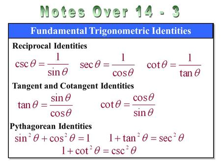 Simplifying More Trig Expressions Ppt Video Online Download
