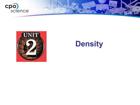 Density. What is density and how is it measured? Density.