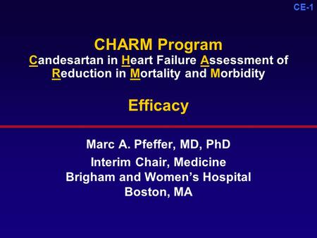 Interim Chair, Medicine Brigham and Women's Hospital Boston, MA
