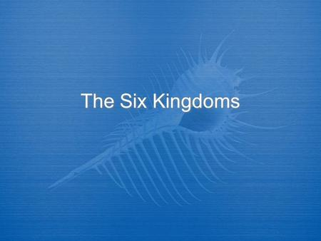 The Six Kingdoms. Directions Record all notes that have the following symbol on the slide.