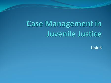 implications of juvenile justice