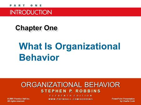 mcshane s l von glinow m a organizational behaviors chapter 1 Organisational behavior, 7e by mcshane/von glinow helps everyone make sense of organizational behavior, and provides the conceptual tools to work more effectively in the workplace.