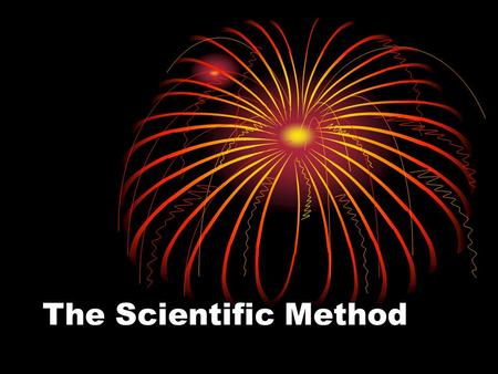The Scientific Method. 5 Steps 1.Question (Problem) 2.Hypothesis 3.Experiment 4.Analysis 5.Conclusion.