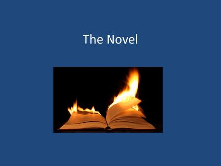 "The Novel. The Novel – Etymology and Length The word ""novel"" comes from the Italian ""novella"" meaning ""a little new thing"". A novella itself is now a."