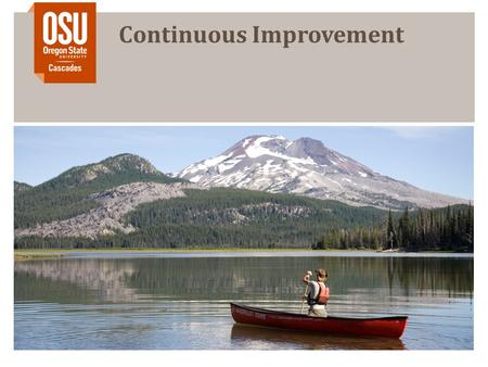 Continuous Improvement. Start Simple and Continually Improve E.g., Gmail Labels 1.