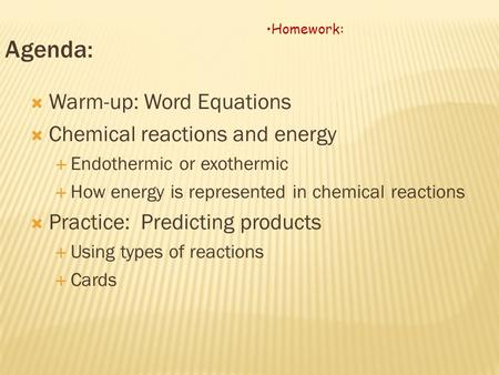 Temperature Cha... Endothermic And Exothermic Reactions Temperature Change
