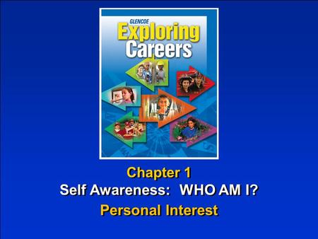 Chapter 1 Self Awareness: WHO AM I? Chapter 1 Self Awareness: WHO AM I? Personal Interest.