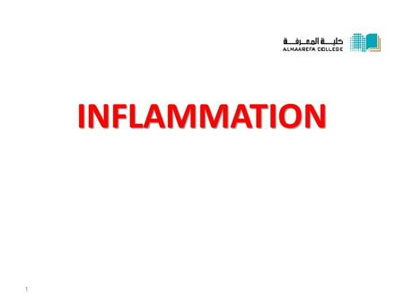 INFLAMMATION 1. Cellulitis * Definition: Acute diffuse suppurative inflammation. * Cause: Streptococcus haemolyticus. The organism produces two enzymes:
