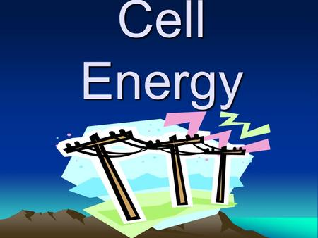 Cell Energy. ATP (adenosine triphosphate) A molecule of energy which is created by the mitochondria when the cell undergoes cellular respiration.