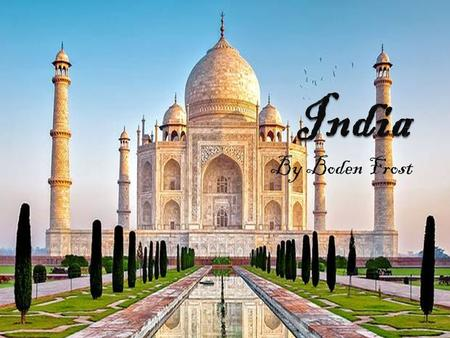 By Boden Frost. How do they speak? Hindi is the official language of India. English is the secondary official language in India. Twenty-nine of the languages.