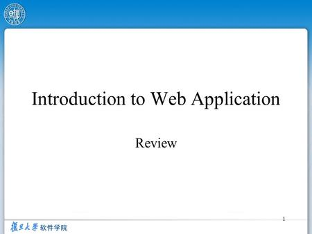 1 Introduction to Web Application Review. 2 Five Layers Architecture HTML, CSS, Java Script ASP.net User ' s.dll, Nunit, Web Services ADO.net SQL Server,