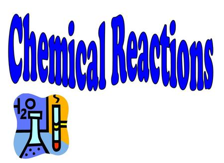 Type of ReactionDefinition  Equation Synthesis Involves two or more substances combining to form one new compound? Decomposition Involves a single compound.