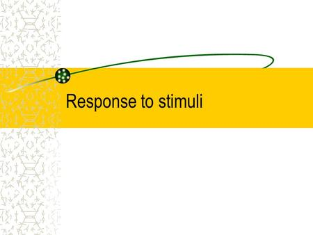 Response to stimuli. 2 Contents Introduction Examples of responses Responses in the Flowering Plant Growth regulation Tropism Plant Growth Regulators.