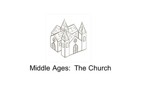 Middle Ages: The Church. Introduction By 500 AD, Germanic Invasions had all but destroyed the urban world of the Roman Empire –Trade Declined –Cities,