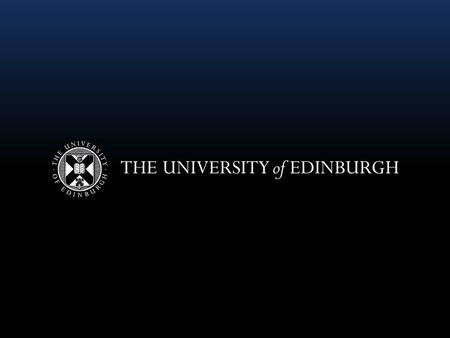 The value of professional development for technical staff Frances Grebenc HR/OD Partner (Learning and Development) University of Edinburgh.