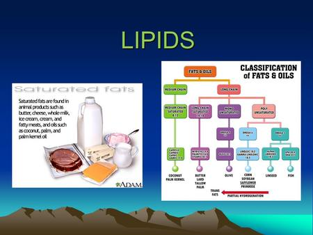 LIPIDS. Lipids Lipids have 3 main functions - Energy storage - Structural component of membranes - Specific biological functions (chemical signals) Contain.