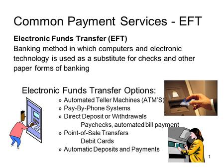 eft method of payment