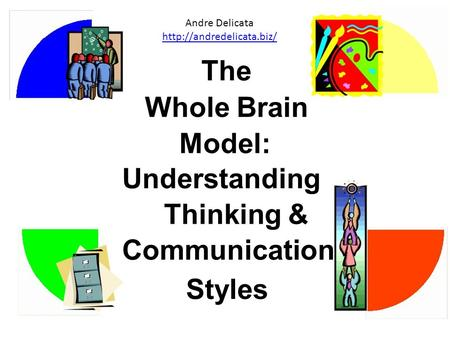 The Whole Brain Model: Understanding Thinking & Communication Styles Andre Delicata