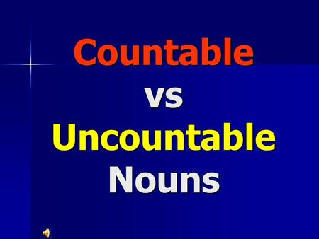 Countable vs Uncountable Nouns. Some, Any, A few, A little, Many, Much How much....? = uncountable nouns For example: How much coffee do you drink? For.