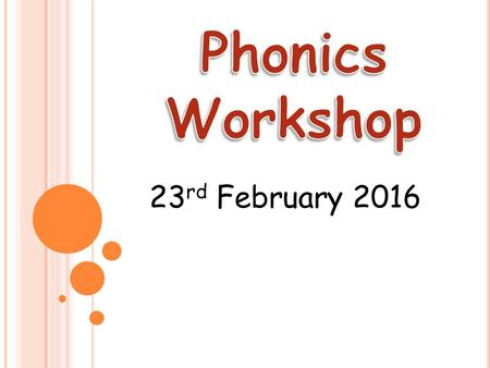 23 rd February 2016. In school, we follow the Letters and Sounds programme. Letters and Sounds is a phonics resource published by the Department for Education.