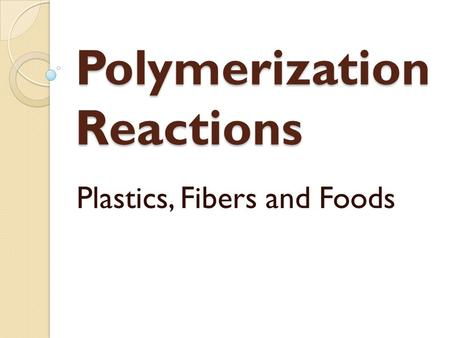 Reactions Nylon Nylon Fibers 116