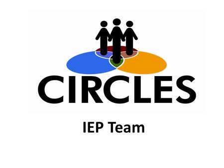 IEP Team. Develops the IEP including the transition component for a single student.