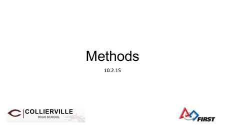 Methods 10.2.15. What is a method? Main Method the main method is where a stand alone Java program normally begins execution common compile error, trying.