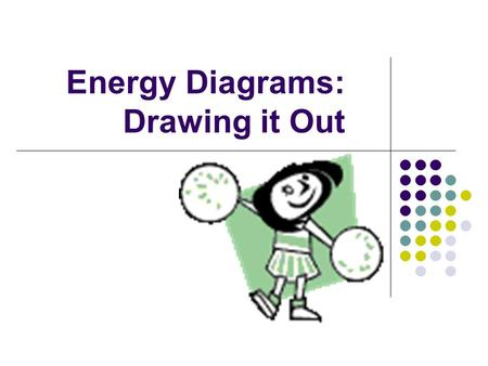 Energy Diagrams: Drawing it Out. Why are we learning this? Energy diagrams show how a reaction works. Energy diagrams display The energy of reactants.