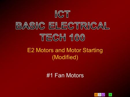 E2 Motors and Motor Starting (Modified)